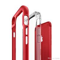 Wholesale iphone case fit goophone online – custom Cgjxs2018 Hot Sale in1 For Iphone Plus Case Transparent Tpu Pc Designer Phone Case Combo Protective Cover For Goophone X Designer Phone