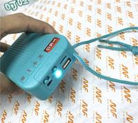 wireless bluetooth speaker solar USB charging LED flashlight outdoor light external speaker small stereo FM radio