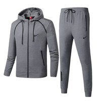 Wholesale mens tennis sweater for sale - Group buy 2019 Spring Autumn Brand New Fashion Mens Tracksuits Womens Hooded Sweater Men Casual Pullover High quality Sweatshirt Suits