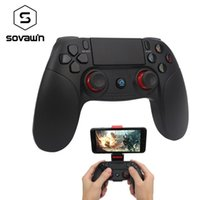 Wholesale ios gamepad resale online - Sovawin Wireless Smartphone Joystick Gamepad Android Controller Bluetooth Control For Ios And Android Pc Smart Tv With Support T191227
