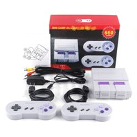 Wholesale super games free resale online - Super Classic TV Handheld Mini Game Consoles Entertainment System for Games Console Drop DHL Shipping free
