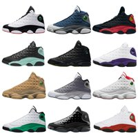 Wholesale men melo for sale - Group buy 2020 Playground Jumpman s Men Basketball Shoes Flint Cap and Gown Island Green Bred court purple Aurora Green Wolf grey melo Sneakers