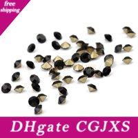 Wholesale phone gems resale online - 60gram About1440pcs Crystal Diamond Beads For Wedding Clothing Phone Decor Rhinestone Gem Flateback With Dimaeter1 mm