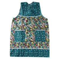 Wholesale floral aprons resale online - Kitchen Apron Floral Bowknot Waterproof Restaurant Cooking Pocket Dress Apron Kitchen Polyeste Halter Bow Pocket Sleeveles