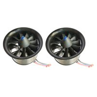 Wholesale brushless motor set for sale - Group buy Set Of Duct Fan KV Propeller S Brushless Motor For RC Parts Plane