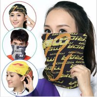 Wholesale literary scarves for sale - Group buy Outdoor Cycling Running Hiking Magic Fashion Headband Sport Turbans Cycling Scarf Scarves Literary Skull Bandanas gym sport hairbands
