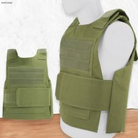 Wholesale cs outdoor tactical vest resale online - Tactical Molle Vest Equipment Paintball Body Armor For CS Wargame Outdoor Hunting Clothing Protective Vest
