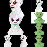 Wholesale leather face hood for sale - Group buy 7gMZP Designer Party Face Clown Lux Plaid imp Leather Mask Washable Halloween hood Masks Mask Cotton Cloth emulsion Mask Anti dustFace Cover