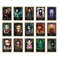 Wholesale teen sets for sale - Group buy 45pcs With Tarot Amusing Full Kids Guidebook Oracle Cards Light Cards English For Games Teens Tarot Game And Set Shadow fFQKq mywjqq