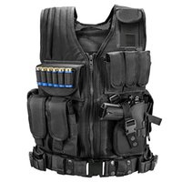 Wholesale cs outdoor tactical vest for sale - Group buy Tactical Vest Combat Army Armor Vests Molle Plate Carrier Swat Vest Outdoor Hunting Fishing CS Training