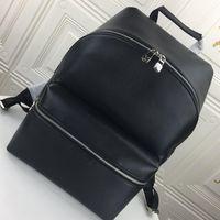 Wholesale rucksacks bag for sale - Group buy Discovery Backpack Pm Mens Bag Fashion Designer Backpacks Leather High Quality Simple Style Men Zipper Travel Rucksack Drop Ship Kuitixm