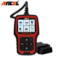 ingrosso strumento professionale dello scanner obd2-Ancel AD410 OBD2 Professional Automotive Scanner OBD Engine Code Reader Multi Languages Lifetime Free Update ODB Diagnostic Tool