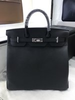 Wholesale togo leather handbag for sale - Group buy best quality HAC handbag fully handmade togo leather wax thread gold and silver hardware for chosen by order about days