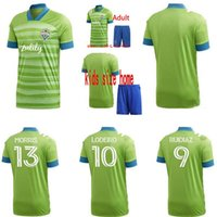 Wholesale seattle home resale online - 2012 New Seattle Sounders FC Away Soccer Jersey kits Home RUIDIAZ MORRIS DEMPSEY TORRES Jerseys Football kit Shirt