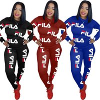 Wholesale summer motorcycle pants for sale - Group buy Women brand piece set tracksuit plus size summer fall clothes running pants sweatsuit pullover leggings outfits outerwear bodysuits