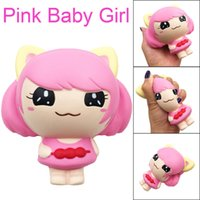 Wholesale fruit soft baby toy for sale - Group buy Squeeze soft Squishies Kawaii Christmas Pink Baby Girl Slow Rising Fruits Scented Stress Relief Toys Funny Gift Z0225