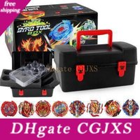 Wholesale beyblades toys resale online - Top Beyblade Burst Set Toys Beyblades Arena Bayblade Metal Fusion Fighting Gyro With Launcher Spinning Gyro Starter Top Bey Blade Toys