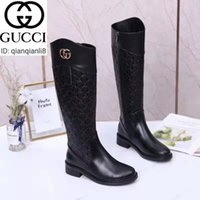 Wholesale ride boots for sale - Group buy qianqianli8 PXR5 Black embossed long boots Women Riding Rain Boot BOOTS BOOTIES SNEAKERS Loafers Ballerinas Dress Shoes