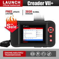 Wholesale launch scanner creader for sale - Group buy Launch X431 Creader VII Plus Car Diagnostic Tool Auto Scanner Engine Transmission ABS SRS Airbag Scan Tools Automotive Scaner