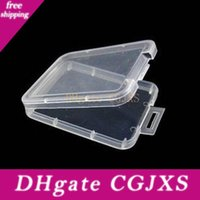 Wholesale tools boxs resale online - Box Protection Case Card Container Memory Card Boxs Tool Plastic Transparent Storage Easy To Carry Practical Reuse