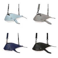 Wholesale cute satchel handbags resale online - Women Girl Cute Whale Shape PU Leather Handbag Shoulder Messenger Crossbody Bag Satchel Tote Purse