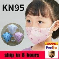 Wholesale sale kids for sale - Group buy KN95 kid masks years Filter Designer face mask children Activated Carbon Respirator Valve for boys girls top sale
