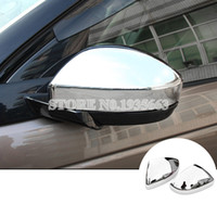 Wholesale mirror land resale online - For Land Rover Discovery Sport ABS Side Rearview Mirror Cover
