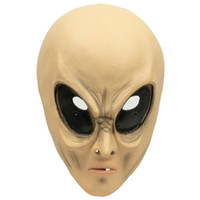 Wholesale aliens movies for sale - Group buy Alien Head Cover Mask Halloween New Products Movie Theme Mask Cos Ghost Horror Adult Scary Headgear Masquerade Latex