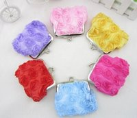 Wholesale iron lace flowers for sale - Group buy Lady lace flower Lace wallet wallet l coin purse yuan product Yiwu yuan product Gkxp