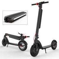 Wholesale frog battery resale online - Large wheel watt electric skateboard foldable adult skateboard durable battery ah long electric Frog Scooter