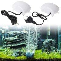 Wholesale New W V V Aquarium Air Pumps Ultra Silent High Output Energy Efficient Fish Tank Oxygen Airpump Piscine Aquariums Accessories