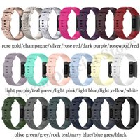 Wholesale silicon wrist resale online - Fitbit Charge SE Silicon Strap Replacement Wrist Belt Sports Strap for Fitbit Smart Watch Band Accessories Strap