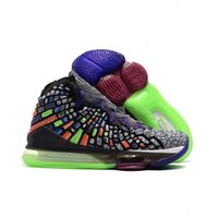 Wholesale big bang 12 resale online - Future Basketball New Mens James Shoes s South Beach Lakers Media Day Big Bang Designer Purple Dynasty Sport Sneakers Size7