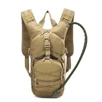 ingrosso zaini cammelli-Lightweight Tactical Backpack Water Bag Camel Survival Backpack Hiking Hydration Pouch Rucksack Camping Bicycle Daypack