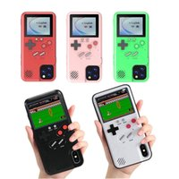 Wholesale game max resale online - Cgjxsgame Player Soft Phone Case For Iphone Pro Max Xr Xs Max X s Plus Color Display Classic Game Console Silicone Cover