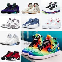 ingrosso jordan 14-Nike air jordan retro 6 Quai 54 Off white OW offwhite AJ 4 OW AIR 5 Alternate Grape Alternate Bel-Air 12 Stone Blue J Balvin 1 14 Gym Red