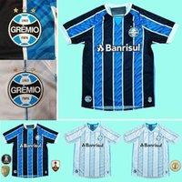 Wholesale size xxxl soccer jerseys resale online - new Gremio Soccer Jersey Home Away camisetas de futbol GEROMEL LUAN KANNEMANN MILLER football shirts size S XXXL