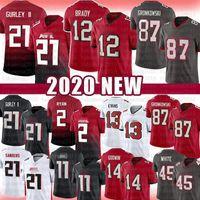 Wholesale julio jones jerseys for sale - Group buy Todd Gurley II Tom Brady Rob Gronkowski Jersey Tampa Bays Chris Godwin Buccaneers Evans Devin White Matt Ryan Julio Jones Sanders