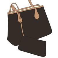 Wholesale big fashion tote for sale - Group buy 2020 new fashion women handbags ladies designer composite bags lady clutch bag shoulder tote female purse wallet big size