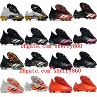 Wholesale 2020 top quality mens soccer shoes Predator Mutator FG soccer cleats PREDATOR Low FG scarpe calcio football boots new hot
