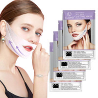 Wholesale Lifting Facial Mask V Shape Face Double Chin Reducer Check Neck Lift Hydrating Peel Off Mask Skin Care