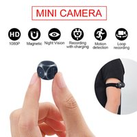 Wholesale lnzee MD21 A Mini Camera HD P Micro Cam Digital Magnetic Body Motion Detection Snapshot Loop Recording Camcorder indoor Cam