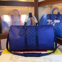 Wholesale large denim tote bag resale online - Keepall Bandouli èRe High Quality Women And Mens Totes Fashion Vintage Crossbody Bag For Men Travel Large Capacity Shoulder Bags Shaspet