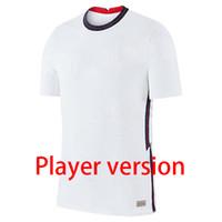 Wholesale england home soccer jersey resale online - 2020 Player version england soccer jersey home away football shirt KANE Camisa de futebol STERLING RASHFORD maillot de foot