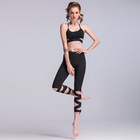 балетная повязка оптовых-Wrapped yoga pants Fitness Dance Ballet Bandage Leggings Cropped trousers Leisure sport elastic force
