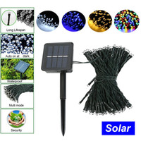 Wholesale Garden Led Solar Lights M LED String Lights Christmas Tree Lighting Waterproof Patio String Lights Solar Garland Garden Light