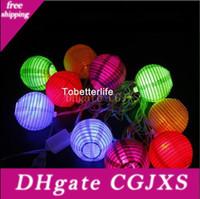 Wholesale keyboard chinese for sale - Group buy Chinese Lanterns Garden Led Light String Round Us Plug v cm Christmas Gift w Set Of m Lamp Wedding Decor