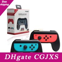 Wholesale new ps4 console resale online - New Hand Gamepads Holder Mount Controller Grips Handle Bracket For Switch Joy Con Ns N Switch Console Holder High Dustproof Joy Con Handl