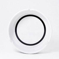 Luxury Ceramics Ashtray With Classic White Black Round Ashtray