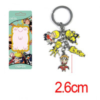 Wholesale fairy tail keys for sale - Group buy Surrounding Naruto Naruto chainnine tail fairy metal doll mobile key chain Pendant key chain phone rope lobsterpendant npfN7